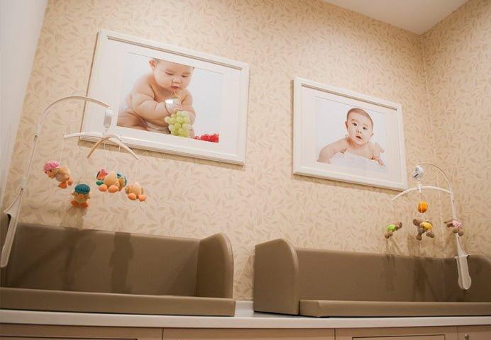Bebek Bakım Odası