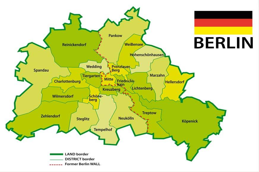 Berlin Şehir Haritası